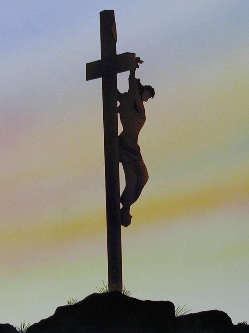 谁把耶稣钉在十字架上 哪些人把耶稣钉在十字架上,他们都是什么身份