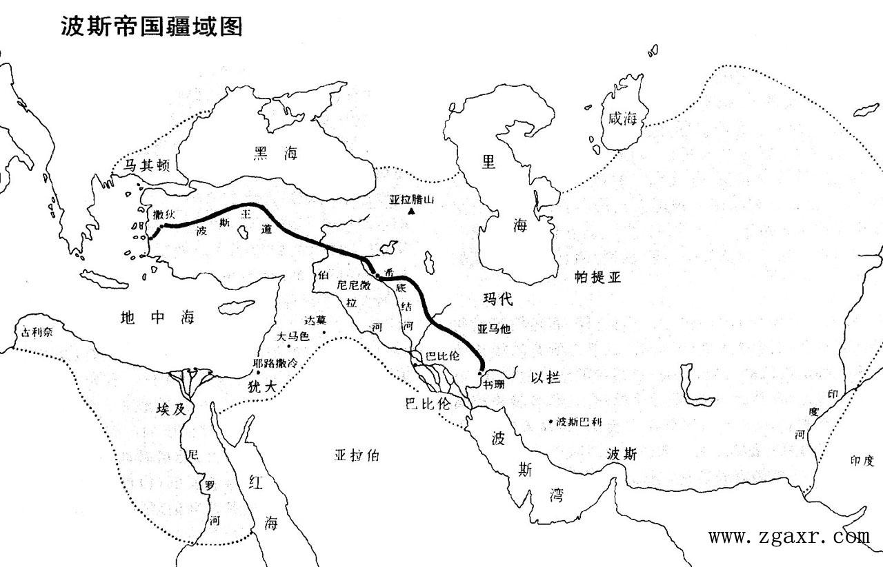 地图 简笔画 手绘 线稿